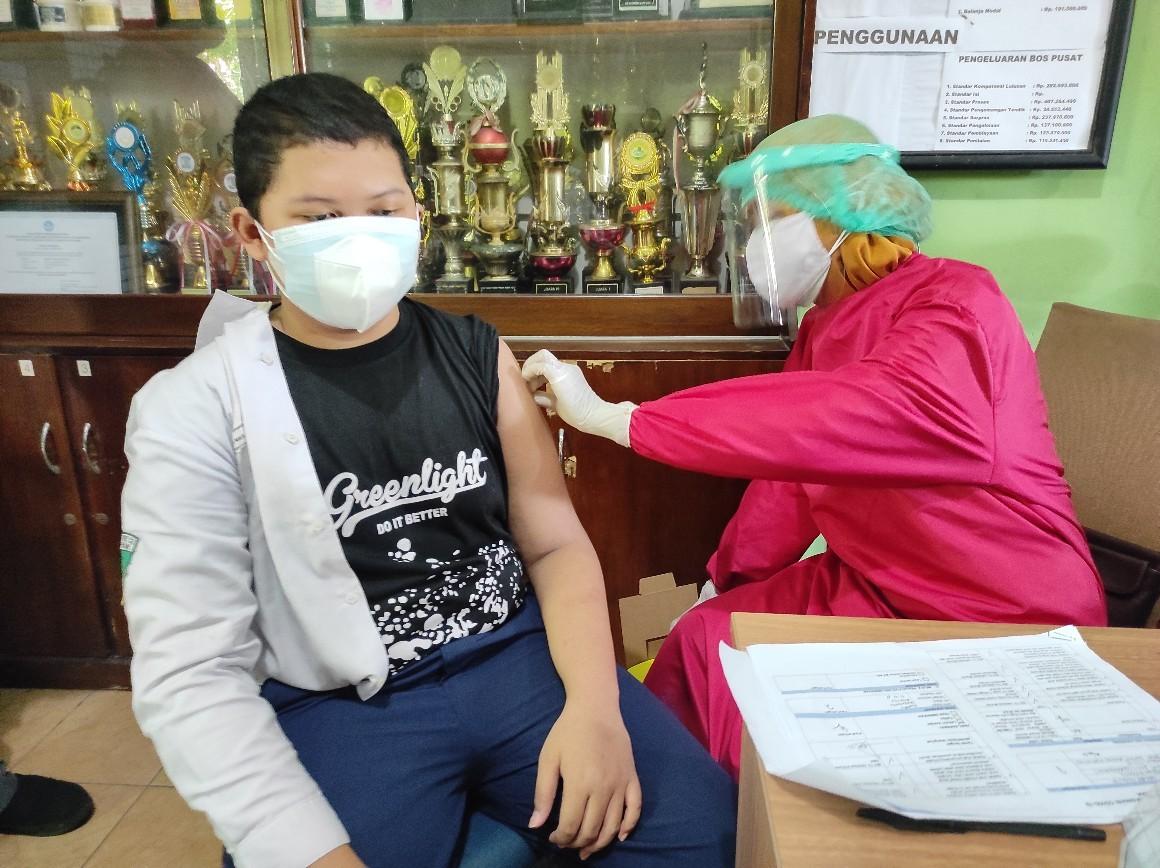 Kebut Vaksinasi Pelajar Demi PTM, Sekolah Berharap Dosis Vaksin Ditambah