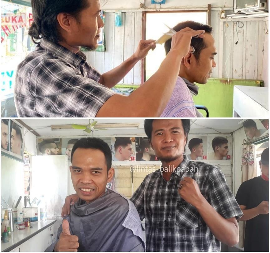 Tukang Cukur Rambut ini Didatangi UAS, Muhidin : Nggak Nyangka, Bisa Ketemu Ulama Idola Saya