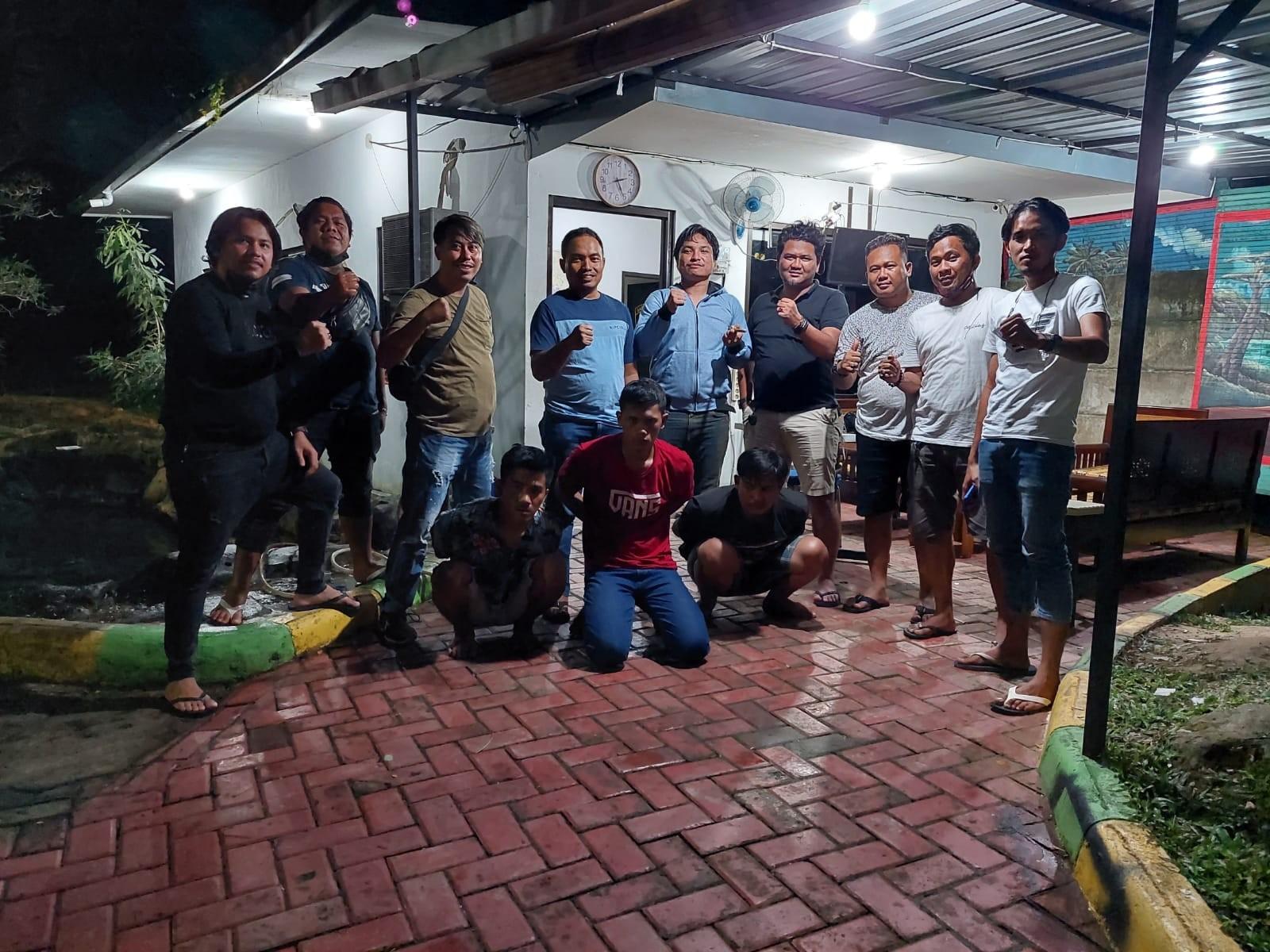 Viral di Medsos Karena Mencuri di Samboja, Tiga Pemuda Diciduk Jatanras Polda Kaltim
