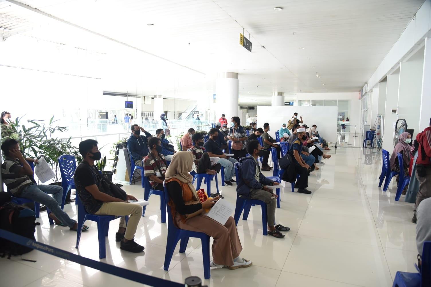 Sentra Vaksinasi Bandara Pindah ke KKP Balikpapan, 200 Dosis Disiapkan Setiap Hari