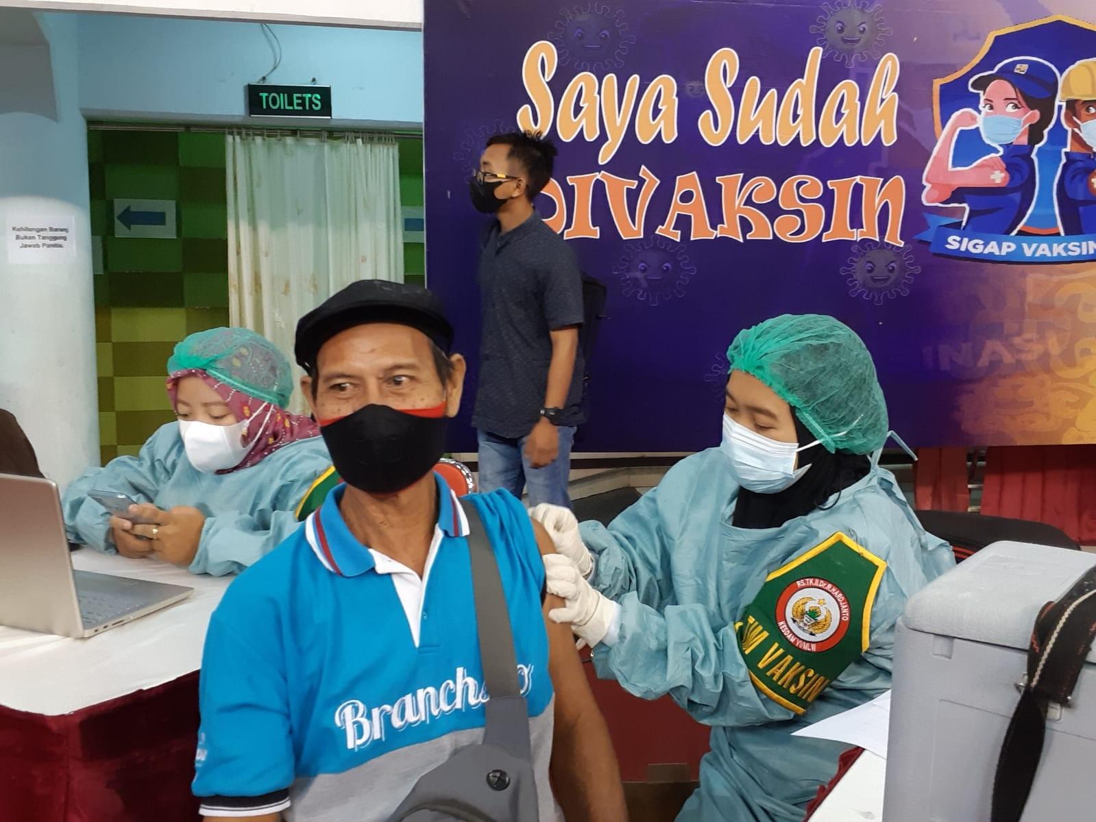 Serbuan Vaksinasi, OJK Kaltim Siapkan 3.300 Dosis di Dome Balikpapan