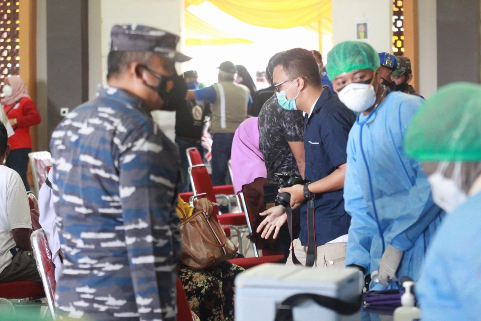 1.250 Dosisi Vaksin Disiapkan Forkopimda Untuk Warga Balikpapan Utara