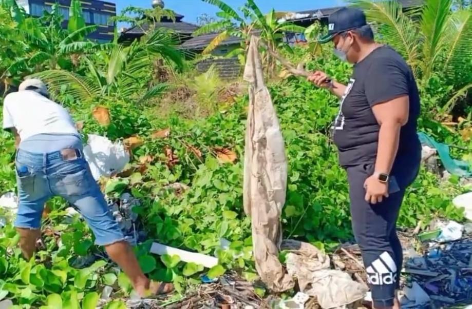 Waduh!!! Limbah Hazmat Banyak Ditemukan Di Pesisir Pantai Balikpapan