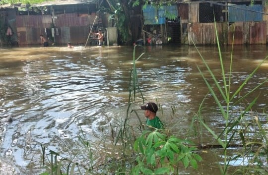 Terpeleset Saat Bermain di Jembatan, Pelajar SMP di Samarinda Tenggelam