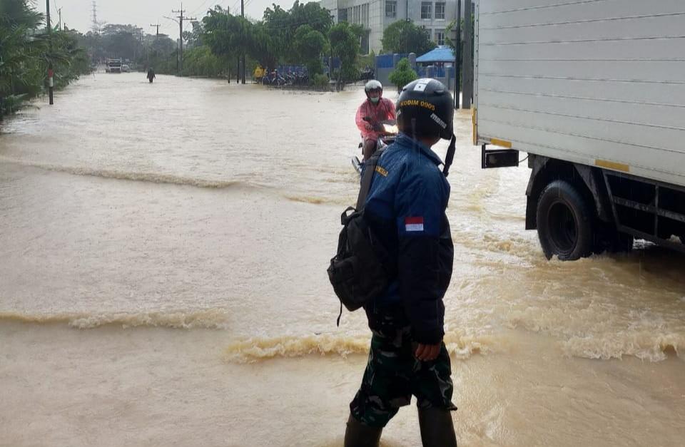 Banjir Lagi, Akses Masyarakat Terhambat